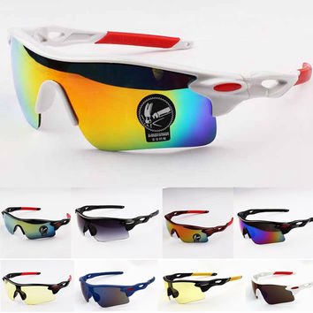 Men Sports Cycling Eyewear Bicycle Bike Sunglasses Women Riding Goggles