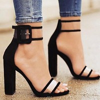 Women's T-stage Stiletto Shoes