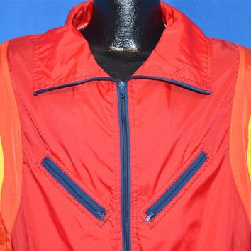 80s Winning Ways Windbreaker Jacket Large