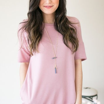 All About The Pockets French Terry Top