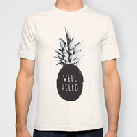 Well Hello T-shirt by Cafelab