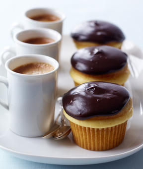 Boston Cream Cupcakes Recipe at WomansDay.com- Dessert Recipes