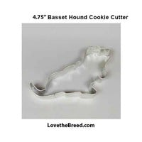 Basset Hound Cookie Cutter 4.75 inches