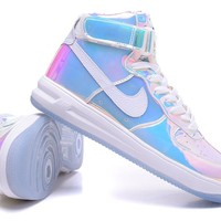 "Nike Air Force 1 ""Gradient Rainbow""Sneakers"