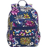 Vera Bradley Campus Backpack in African Violet