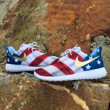 CaliKidShop — (WOMENS) Independence Day Roshe Run by CaliKidDrew