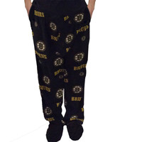 Boston Bruins Men's Micro Fleece Pajama Pants