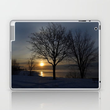Blue Sunrise Laptop & iPad Skin by Stevestones