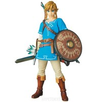 The Legend of Zelda Real Action Heroes Action Figure : Link (Breath of the Wild Ver.) [PRE-ORDER] - HYPETOKYO