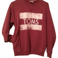 Toms Sweat Shirt Hoodie at 45% off on Tradesy