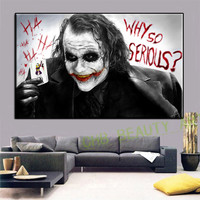 Canvas Art Wall Painting Batman Film Movie Joker Home Decorative Wall Pictures For Living Room Posters And Prints
