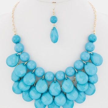 Big Bold Statement Set -- Turquoise -- Sassy Deal