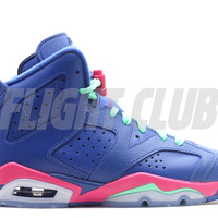 "air jordan 6 retro (gs) ""game royal"" - Air Jordan 6 - Air Jordans 