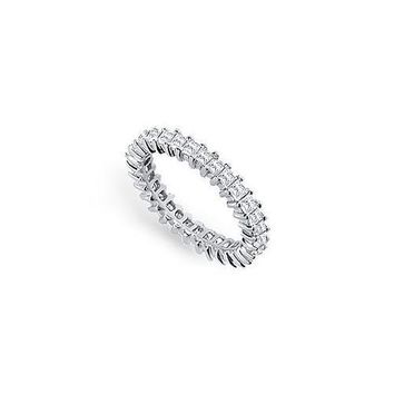 Platinum Diamond Eternity Band : 2.00 CT Diamonds