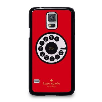 KATE SPADE ROTARY DIAL UP Samsung Galaxy S5 Case Cover
