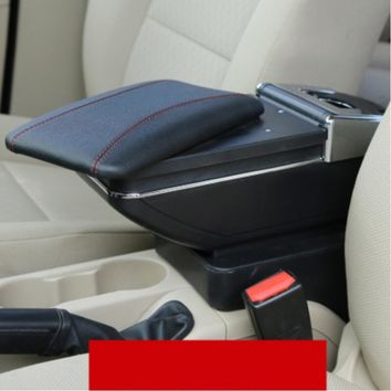 For Hyundai Solaris Verna Grand Avega armrest box central Store content box with cup holder ashtray accessories