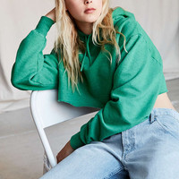 Urban Renewal Remade Super Cropped Hoodie Sweatshirt - Urban Outfitters