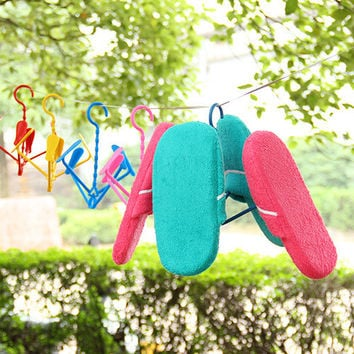 Korean Shoes Rack Sandals Rack Innovative Hanger [6395545668]