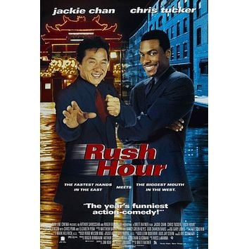 Rush Hour 27x40 Movie Poster (1998)