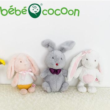Bebecocoon 2017 Fullfy Bunny Animal Soft Plush Toys Sleeping Mate Stuffed & Plush Animals 32cm/36cm Kids Toys For Girls Gifts