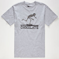 Chocolate El Chocolate Mens T-Shirt Heather Grey  In Sizes