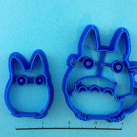 Totoro Set Cookie Cutters by WarpZone on Etsy