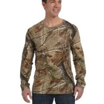 Code Five Men's Realtree Camo Long-Sleeve T-Shirt