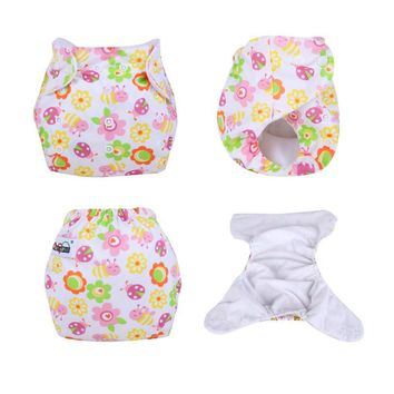 Reusable Panties Diapers Waterproof Baby Pants Washable Cloth Diapers for Children Kids Panty Diaper Adjustable Reusable Nappies