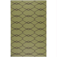 Area Rug - 5' X 8' - Colors Include Avocado And Espresso