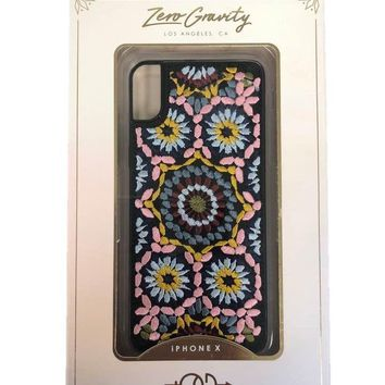 Zero Gravity Casbah Retro Embroidered Case for iPhone X