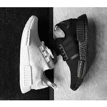 Nmd Runner R1 Boost Japan Triple Black White Ultra Boosts Sport Sneakers Nmd_r1 Primeknit Shoes Eur 36 45 | Best Deal Online