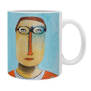 Robin Faye Gates Untitled Man Coffee Mug