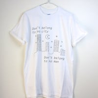 Halsey 'Hurricane' Lyric T-shirt