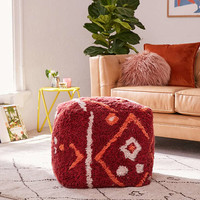 Tufted Rug Pouf | Urban Outfitters