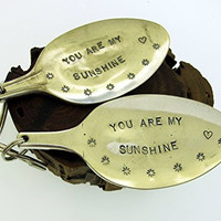 You Are My Sunshine Spoon Keychain