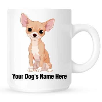 Personalized mug for your Chihuahua