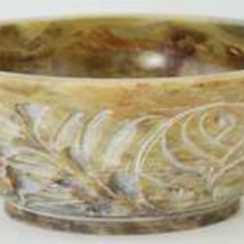Soapstone Scrying & smudge Bowl