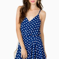 Dotty Swing Day Dress