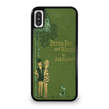 PETER PAN AND WENDY iPhone 5/5S/SE 5C 6/6S 7 8 Plus X/XS Max XR Case Cover