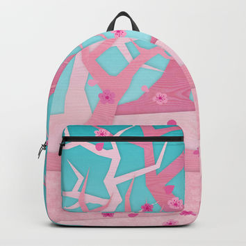 Spring trees Backpack by edrawings38