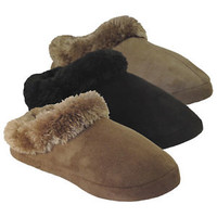 New Women's Slipper Comfortable Warm Soft teen Shoes flat heel faux suede sz nb