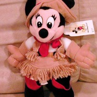 Disney's Frontierland Minnie Mouse 8""