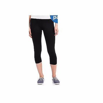No Boundaries Juniors Capri Leggings, Small 3-5, Black