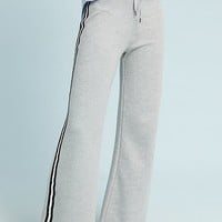 Wide-Leg Terry Sweatpants