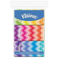 Kleenex Go Pack Facial Tissue (Pack of 3)