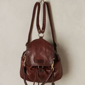 Jenny Convertible Leather Backpack by Frye Brown One Size Bags
