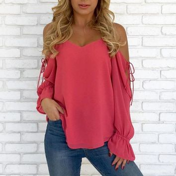 Off Shoulder Bandage Top