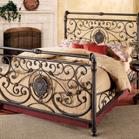 1039-mercer-bed-set-queen-w-rails - Free Shipping!
