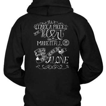 ESBH9S Shawn Mendes Quote Take A Piece Of My Heart Hoodie Two Sided