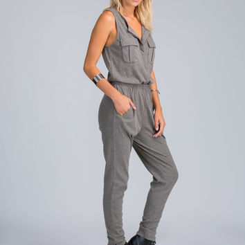 Any Day Now Ribbed Jumpsuit GoJane.com